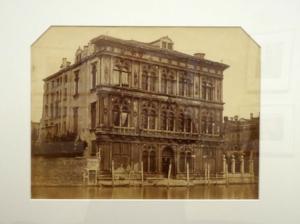 Jakob August Lorent: Palazzo Vedramin-Calergi in Venedig