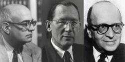 Adorne, Horlheimer und Kogon (Bild: siehe Text)