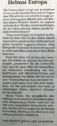 Peter Haimerl in der Süddeitschen Zeitung