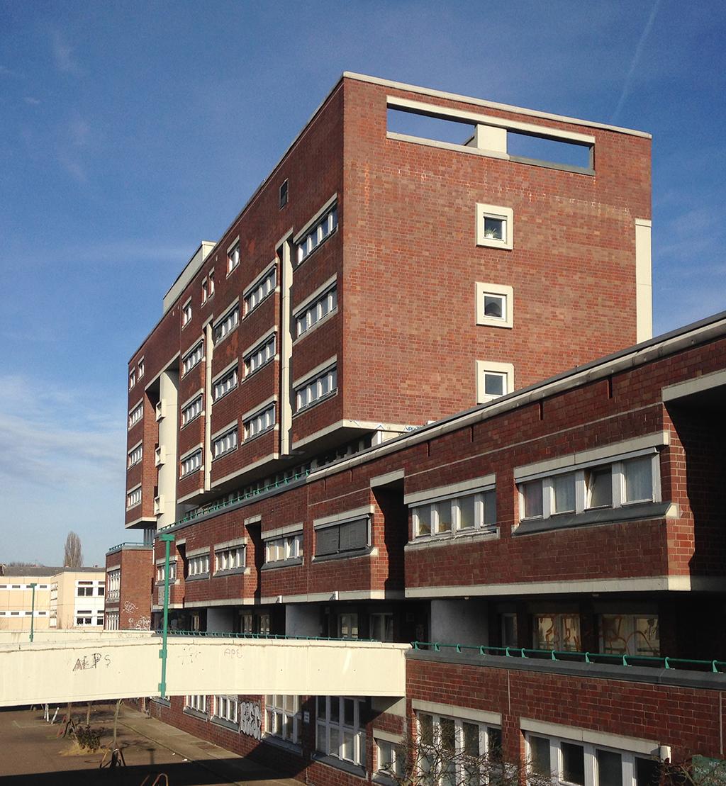Jugendzentrum in Berlin-Moabit von den Architekten Dietmar Grötzebach, Gerd Neumann, Günter Plessow (Bild: Philipp Dittrich)