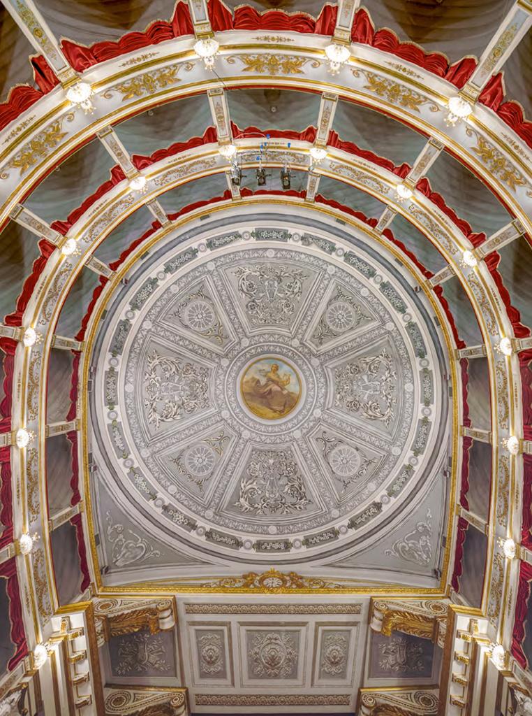Teatro Tina di Lorenzo in Noto, gebaut von Francesco Sortino ab 1855