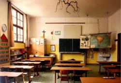 Schule in Lana, Klassenraum 2020 (Bild:***)