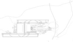 Lageplan; zwischen Start- und Landebahn steht der Terminal, östlich davon entsteht die Aiport City. (© gmp architekten )