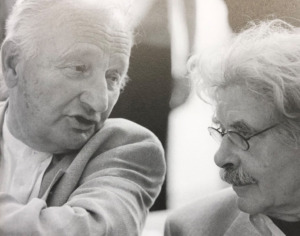 Günter Behnisch (1922-2010) und Hardt-Waltherr Hämer (1922-2012) | (Bild: Aedes)