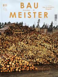 """Die November-Ausgabe des """"Baumeister"""" ist dem Bauen mit Holz gewidmet."""