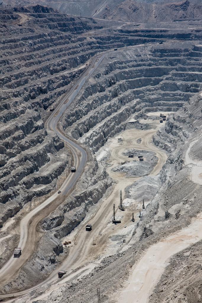 Grubengrund der Rösssing-Mine bei Swakopmund, Namibia