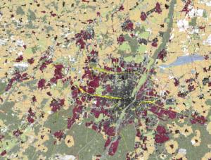 In München und Umgebung ist der Bedarf an (bezahlbaren) Wohnungen zwar besonders hoch, doch auch hier dominiert in der Umgebung das Einfamilienhaus. (© 2020 Hoidn Wang Partner)