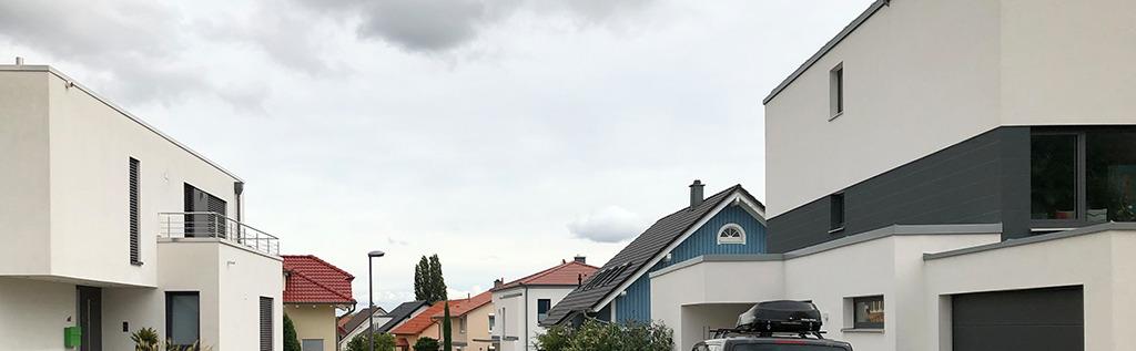 Dachlandschaft nach Plan (Bild: Wilfried Dechau)