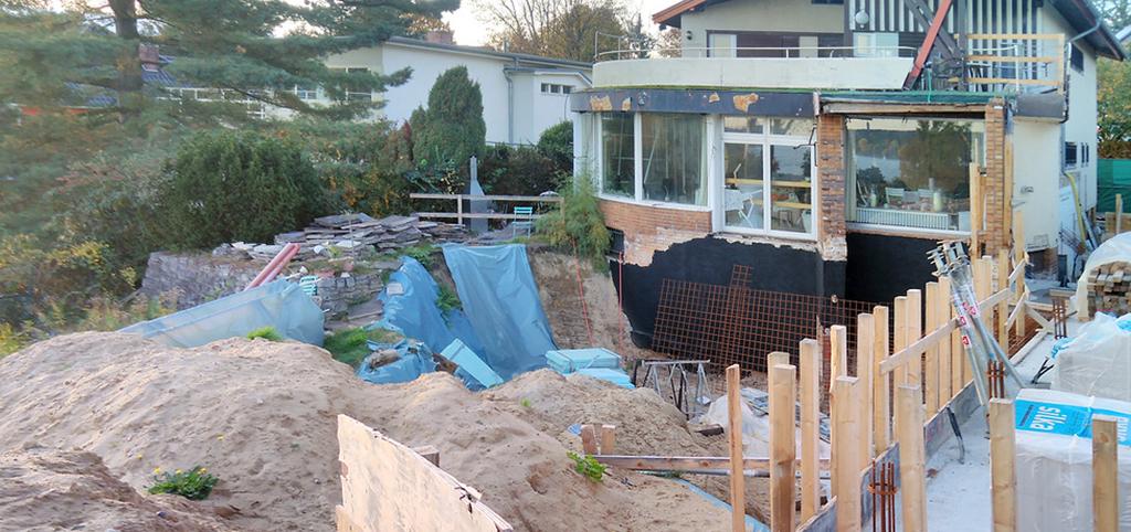 Gartenseite des Hauses Baensch (Bild: Scharoun Gesellschaft, Dimitri Suchin)