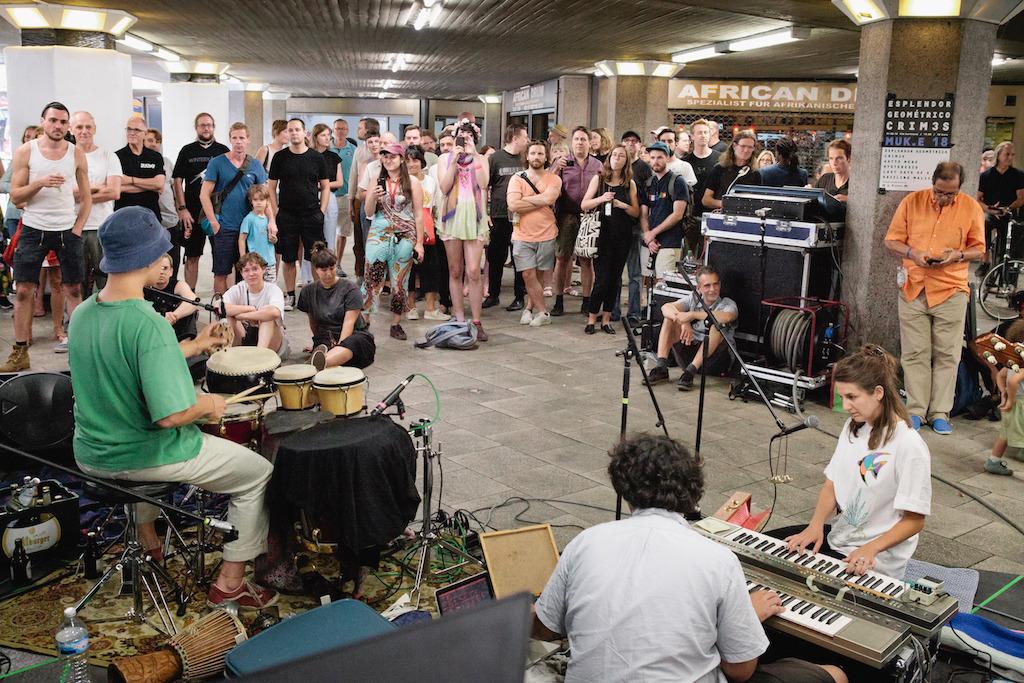 Sommerfest der freien Kunsträume 2018. (Bild: Astrid Piethan)