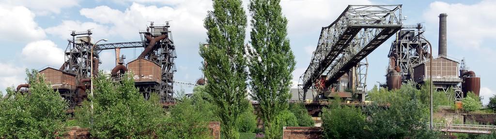Landschaftspark Duisburg-Nord - vom Sinterplatz aus