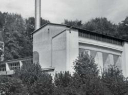 Heizhaus in Friedrichshafen von Rolf Gutbrod (Bild: Denkmalpflege in Baden-Württemberg, 3/2019)