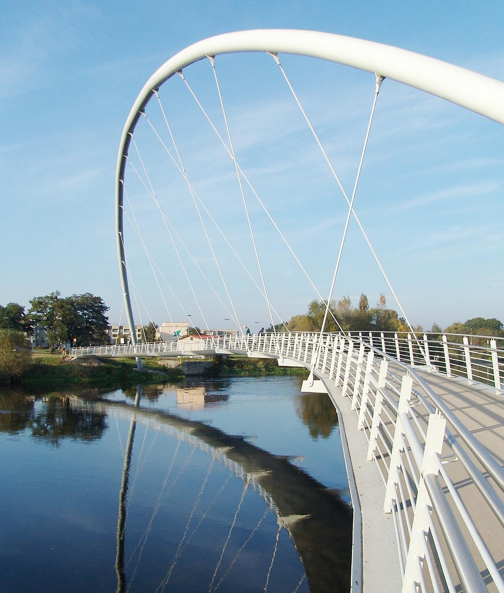 Brücke über die Mulde in Dessau (Bild: Wilfried Dechau)