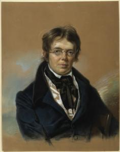Christian Peter Wilhelm Beuth, Zeichnung von Franz Krüger, 1835 (Bild: Wikimedia gemeinfrei, smb digital)