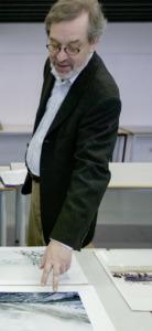 Hans-Eberhard Hess als Juror beim Europäischen Architekturfotografie-Preis (Bild: Wilfried Dechau)