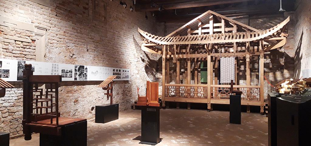 Installation im chinesischen Pavillon (Bild: Nikolaus Bernau)