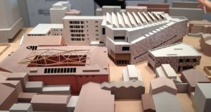 Modell des Museums, Ausstellung 2014 (Bild: Ursula Baus)