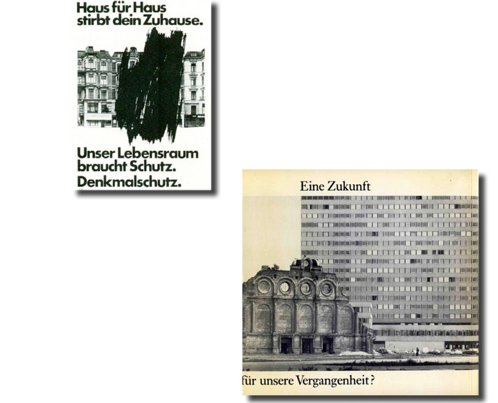 Publikationen, in denen Feindbilder gezeichnet wurden: Die Denkmalpfleger polemisierten in einer Art und Weise, die sie heute in Argumentationsnöte bringt.